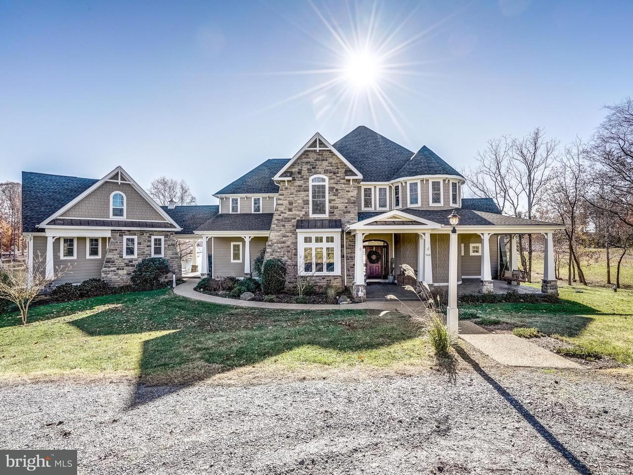 独户住宅 为 销售 在 568 BURRUSS MILL Road 568 BURRUSS MILL Road Bumpass, 弗吉尼亚州 23024 美国