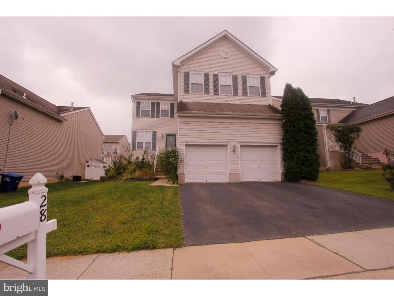 独户住宅 为 出租 在 28 COVENTRY TER Columbus, 新泽西州 08022 美国