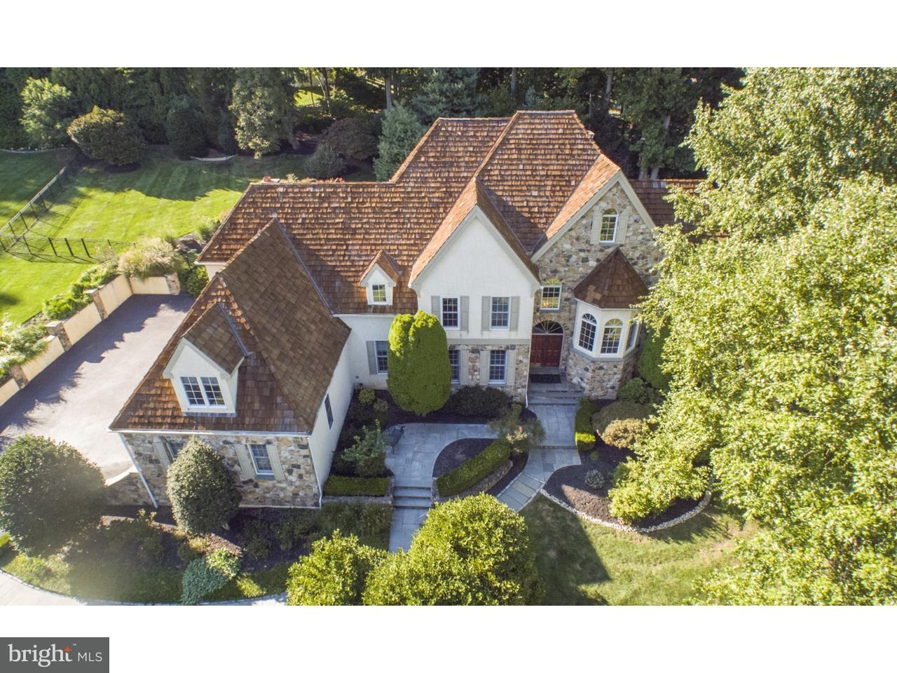 Частный односемейный дом для того Продажа на 90 INDIAN SPRING Road Media, Пенсильвания 19063 Соединенные Штаты