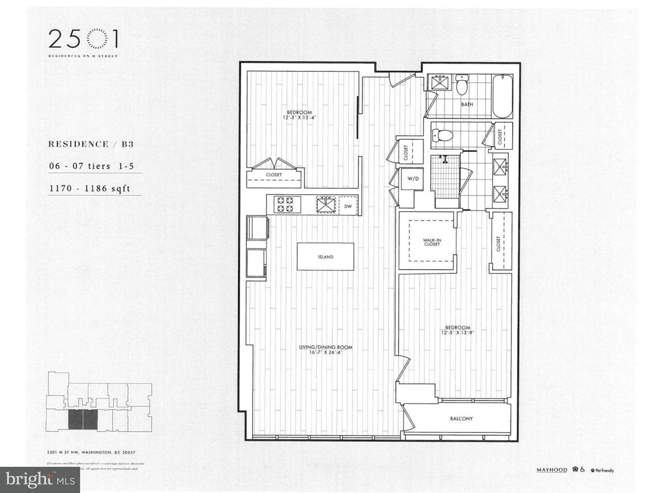 Additional photo for property listing at 2501 M ST NW #207 2501 M ST NW #207 Washington, District De Columbia 20037 États-Unis