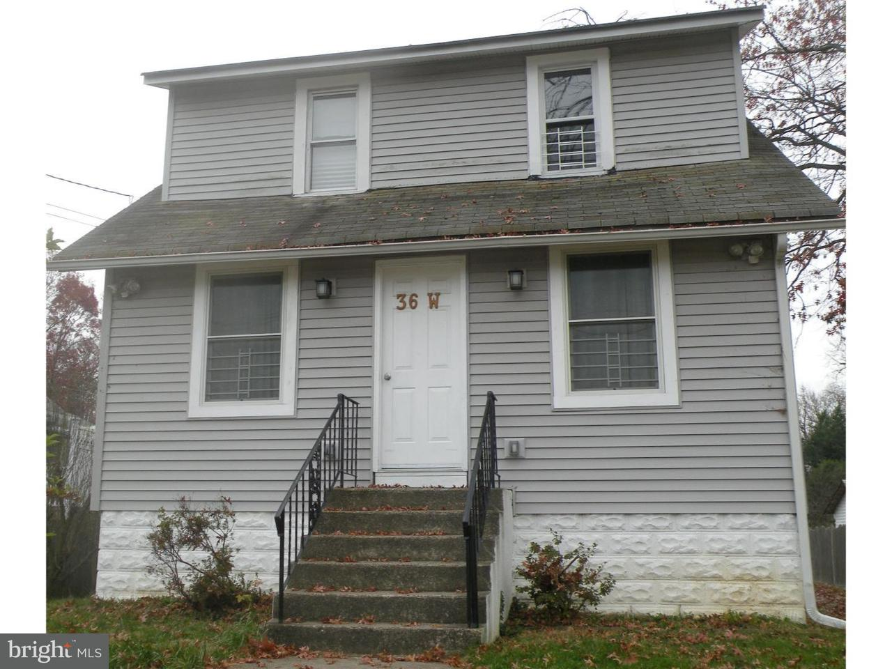 Single Family Home for Rent at 36 W GRADWELL Avenue Maple Shade, New Jersey 08052 United States
