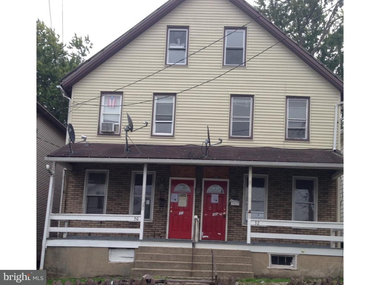 дуплекс для того Продажа на 30 MAYER ST #30-32 Wilkes Barre, Пенсильвания 18702 Соединенные Штаты