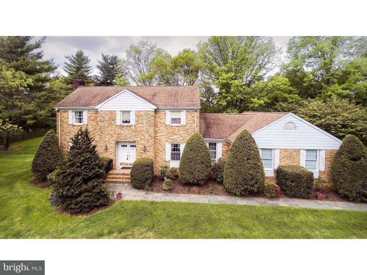 Maison unifamiliale pour l Vente à 71 CARTER Road Princeton, New Jersey 08540 États-Unis