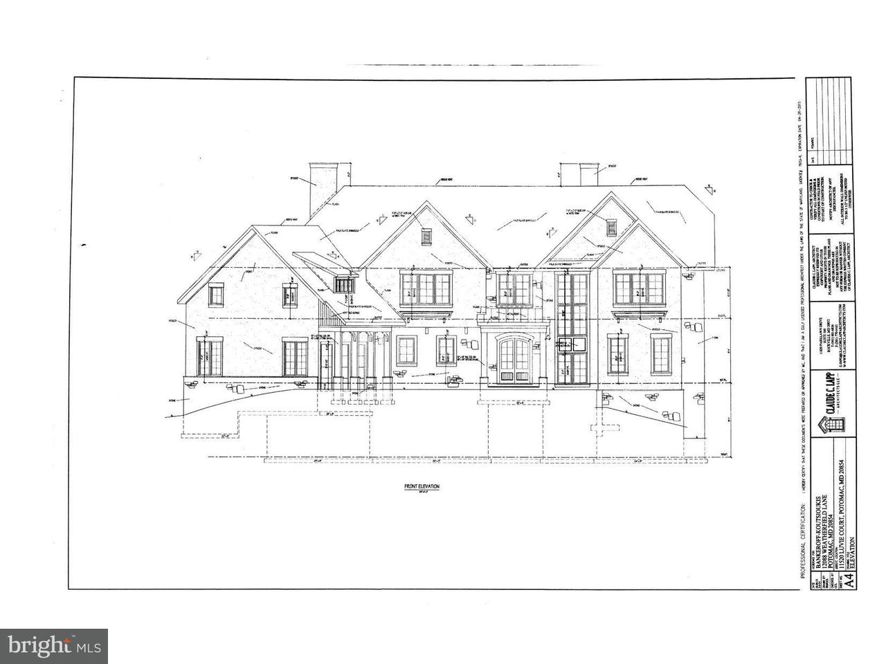 Land for Sale at 11520 Luvie Ct Potomac, Maryland 20854 United States