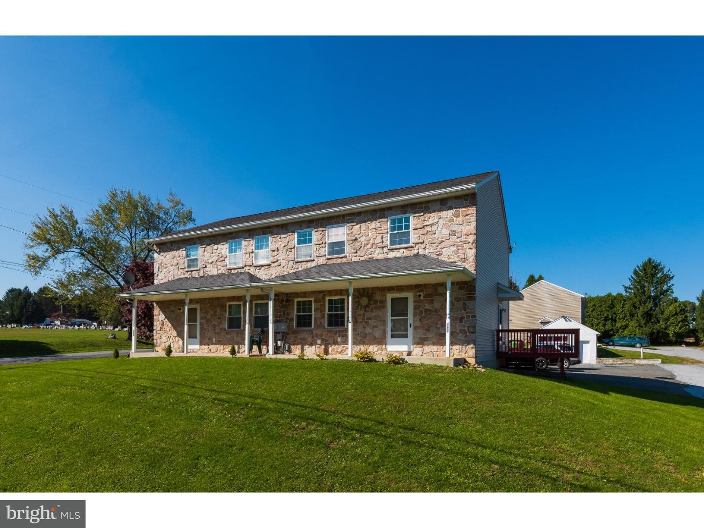 Single Family Home for Sale at 321 JAMES Street Honey Brook, Pennsylvania 19344 United States