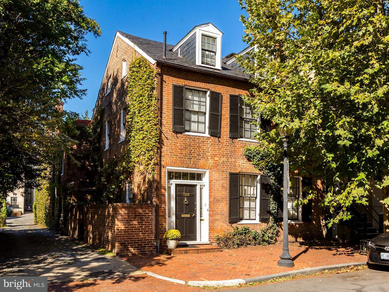Townhouse for Sale at 1308 29TH ST NW 1308 29TH ST NW Washington, District Of Columbia 20007 United States