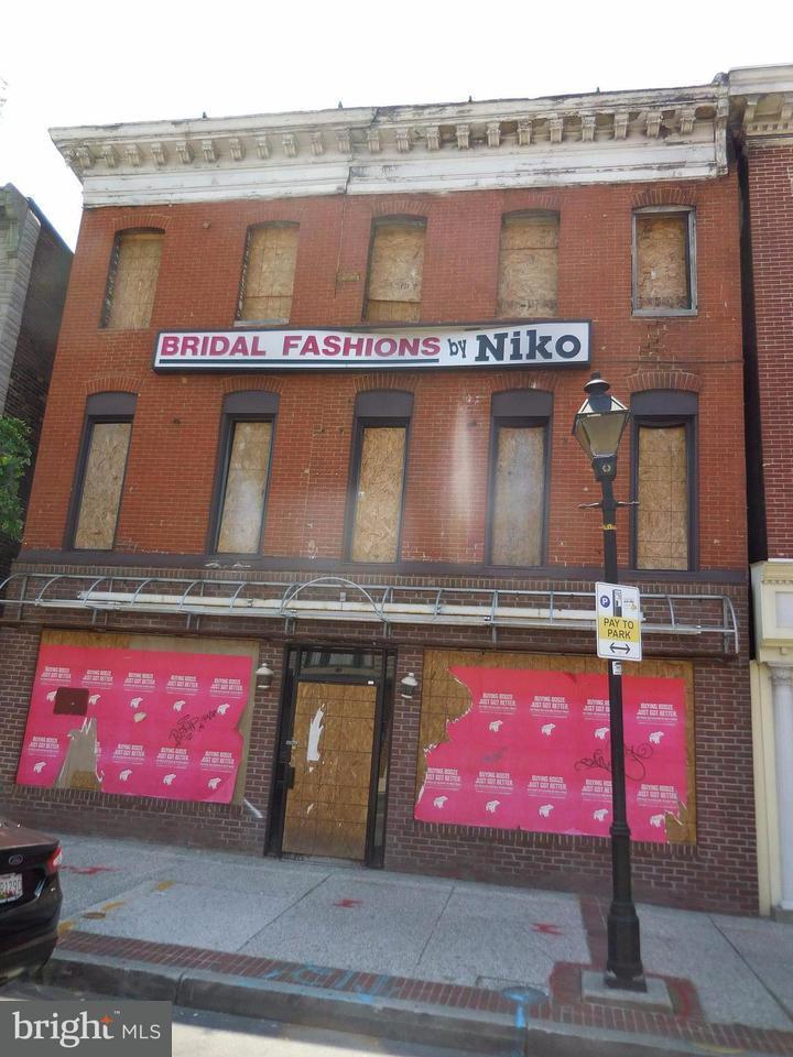Commercieel voor Verkoop een t 1707 Eastern Avenue 1707 Eastern Avenue Baltimore, Maryland 21231 Verenigde Staten
