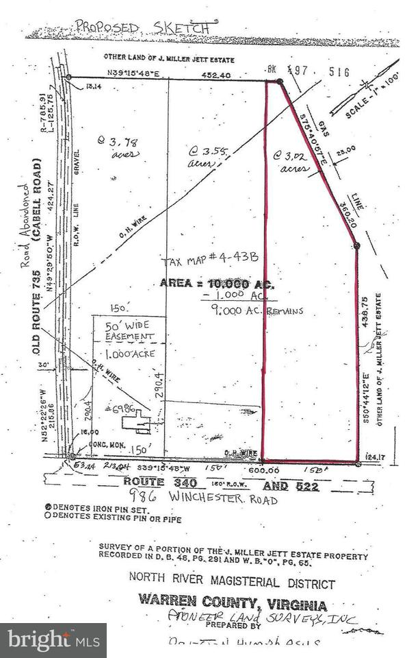 Land for Sale at 6986 Winchester Rd Front Royal, Virginia 22630 United States