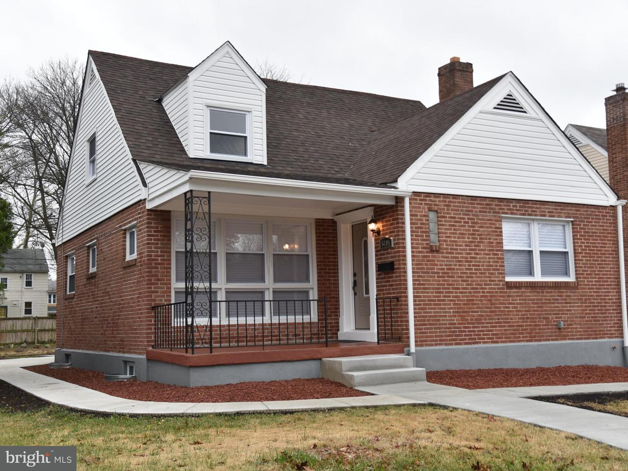 Single Family for Sale at 5404 Wabash Ave Baltimore, Maryland 21215 United States