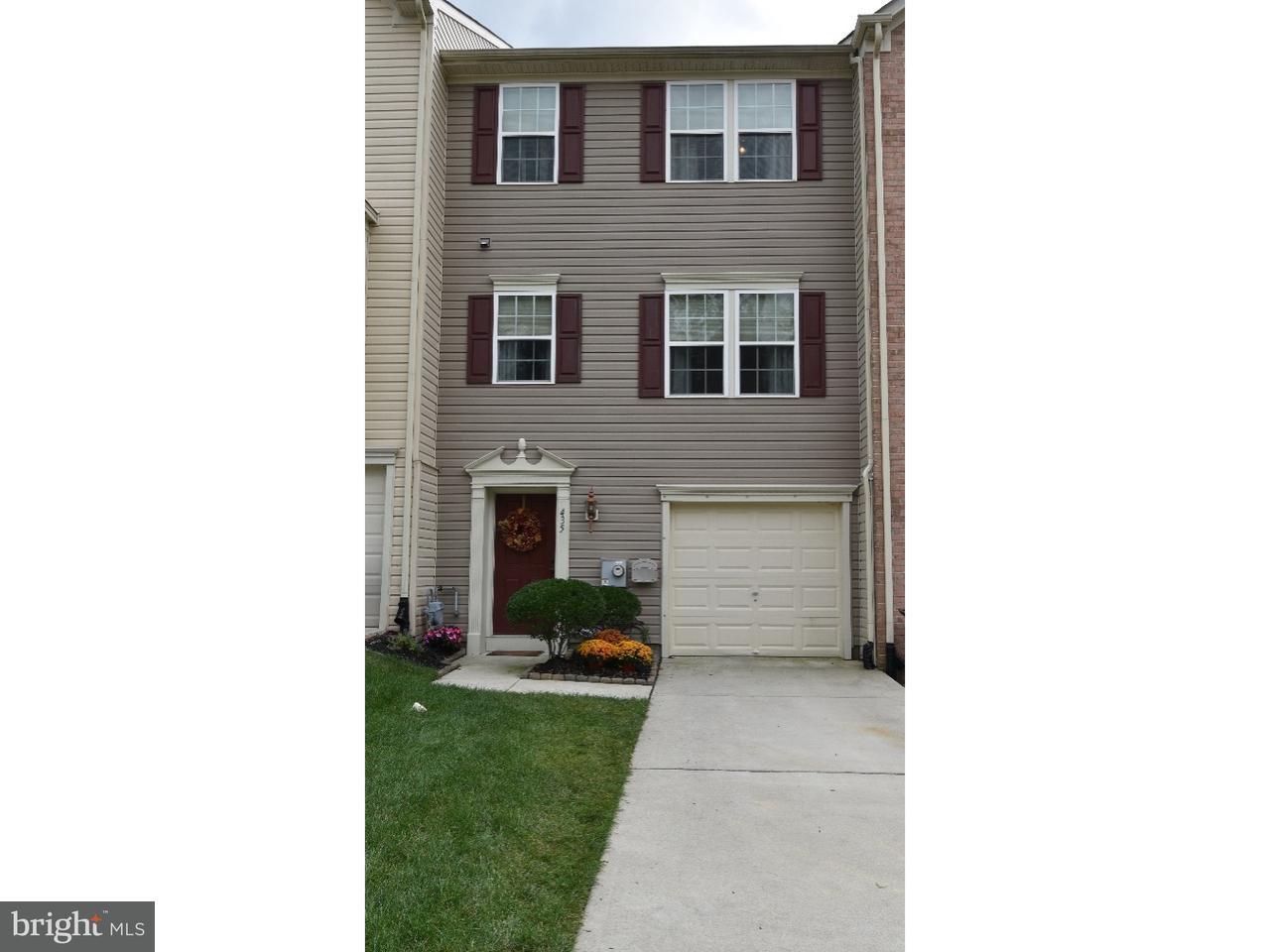 Casa unifamiliar adosada (Townhouse) por un Alquiler en 435 CONCETTA Drive Mount Royal, Nueva Jersey 08061 Estados Unidos