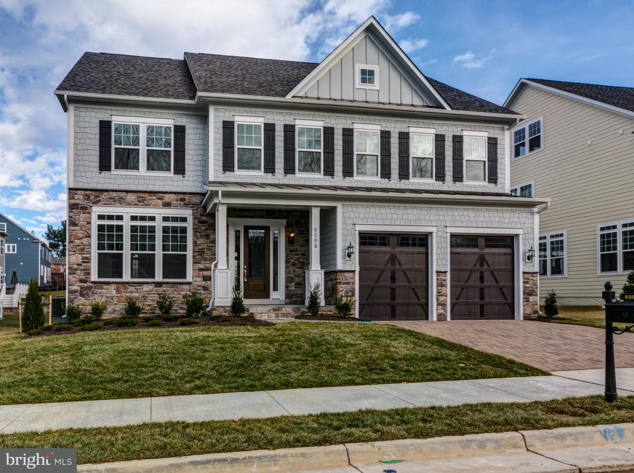 Single Family Home for Sale at 6508 MANOR RIDGE Court 6508 MANOR RIDGE Court Falls Church, Virginia 22043 United States