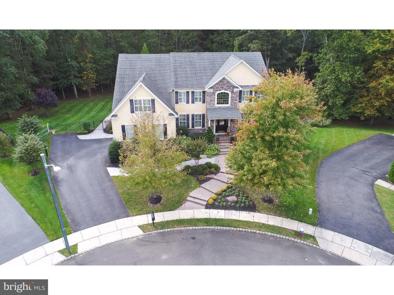Enfamiljshus för Försäljning vid 23 SPRINGVILLE WAY Mount Laurel, New Jersey 08054 Usa