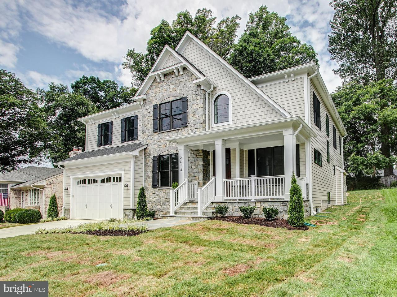 Single Family for Sale at 5813 Ridgefield Rd Bethesda, Maryland 20816 United States