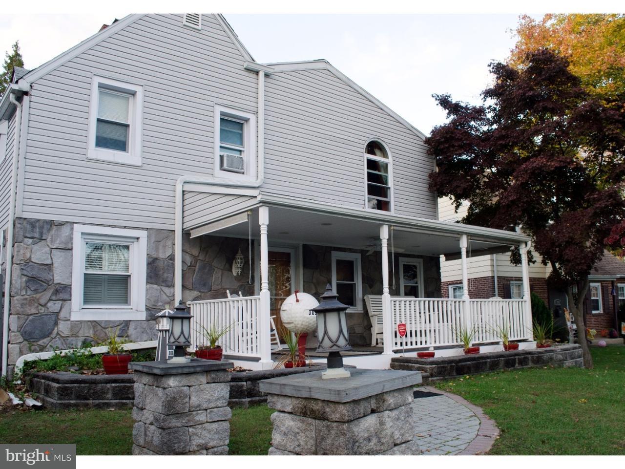 Частный односемейный дом для того Продажа на 305 HARDING Avenue Folsom, Пенсильвания 19033 Соединенные Штаты