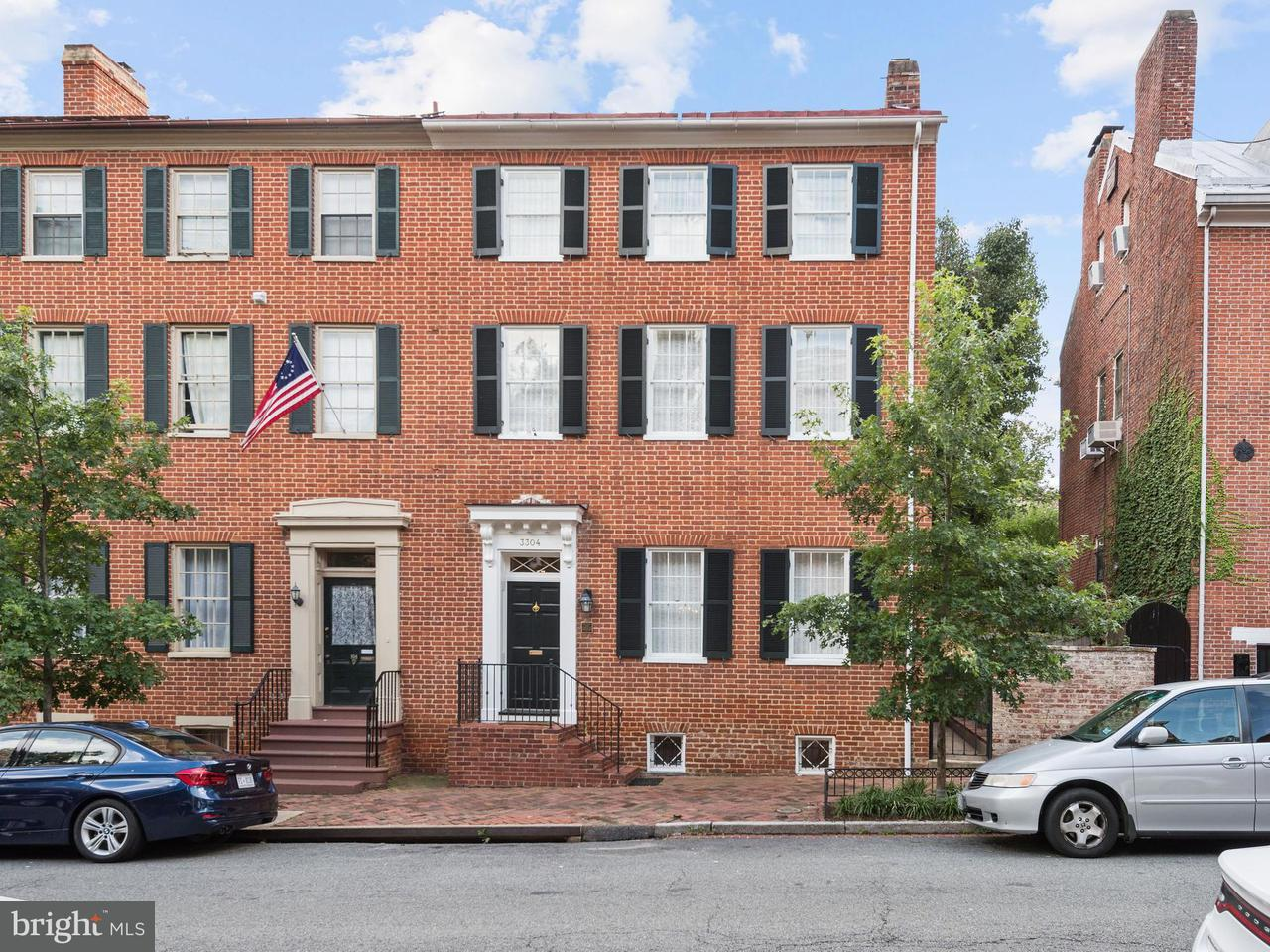 Townhouse for Sale at 3304 N ST NW 3304 N ST NW Washington, District Of Columbia 20007 United States