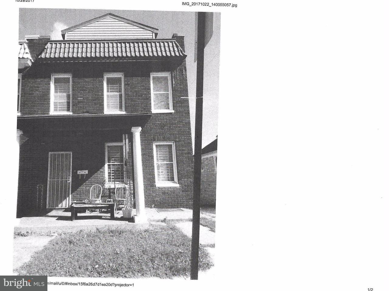 Single Family for Sale at 4709 Fairhaven Ave Baltimore, Maryland 21226 United States