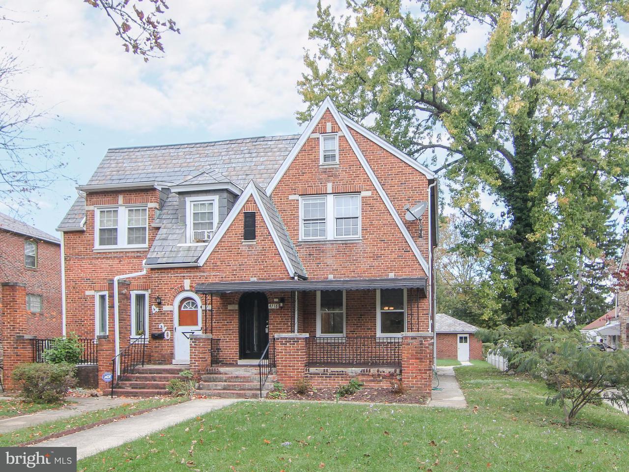 Single Family for Sale at 4718 Edmondson Ave Baltimore, Maryland 21229 United States