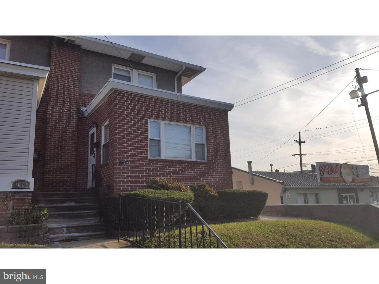Townhouse for Sale at 1022 MACDADE BLVD Darby, Pennsylvania 19023 United States