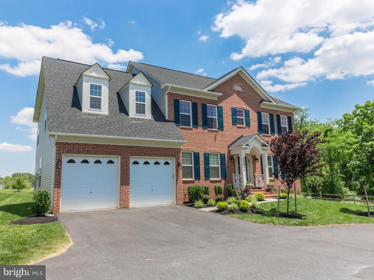 Maison unifamiliale pour l Vente à 22449 WINDING WOODS WAY 22449 WINDING WOODS WAY Clarksburg, Maryland 20871 États-Unis