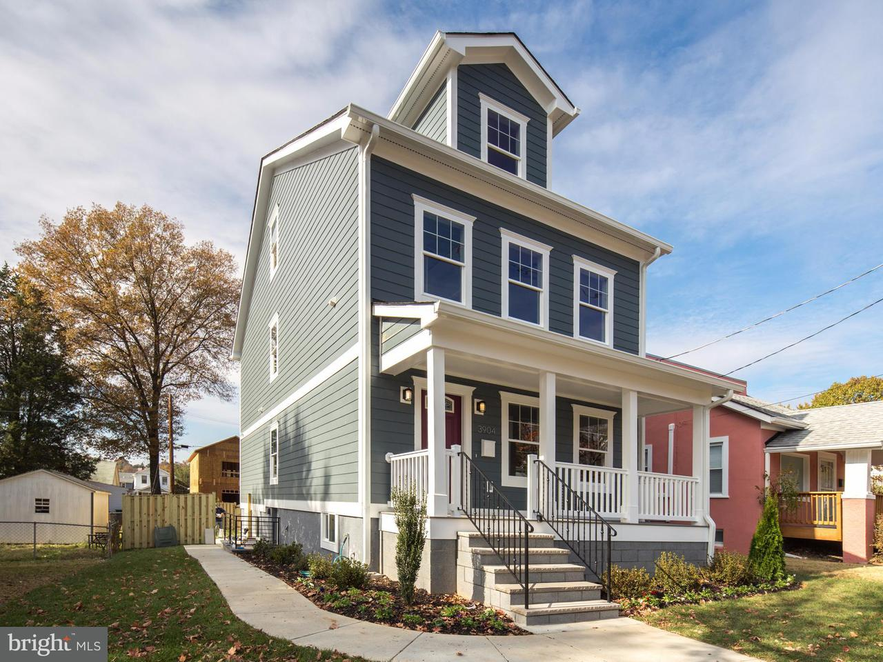 Maison unifamiliale pour l Vente à 3904 22ND ST NE 3904 22ND ST NE Washington, District De Columbia 20018 États-Unis