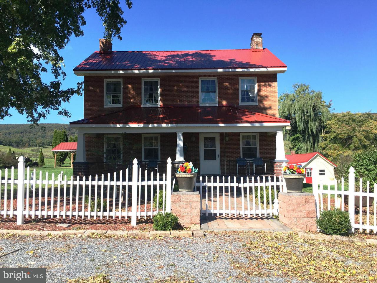 农场 为 销售 在 4625 BEDFORD VALLEY Road 4625 BEDFORD VALLEY Road Bedford, 宾夕法尼亚州 15522 美国