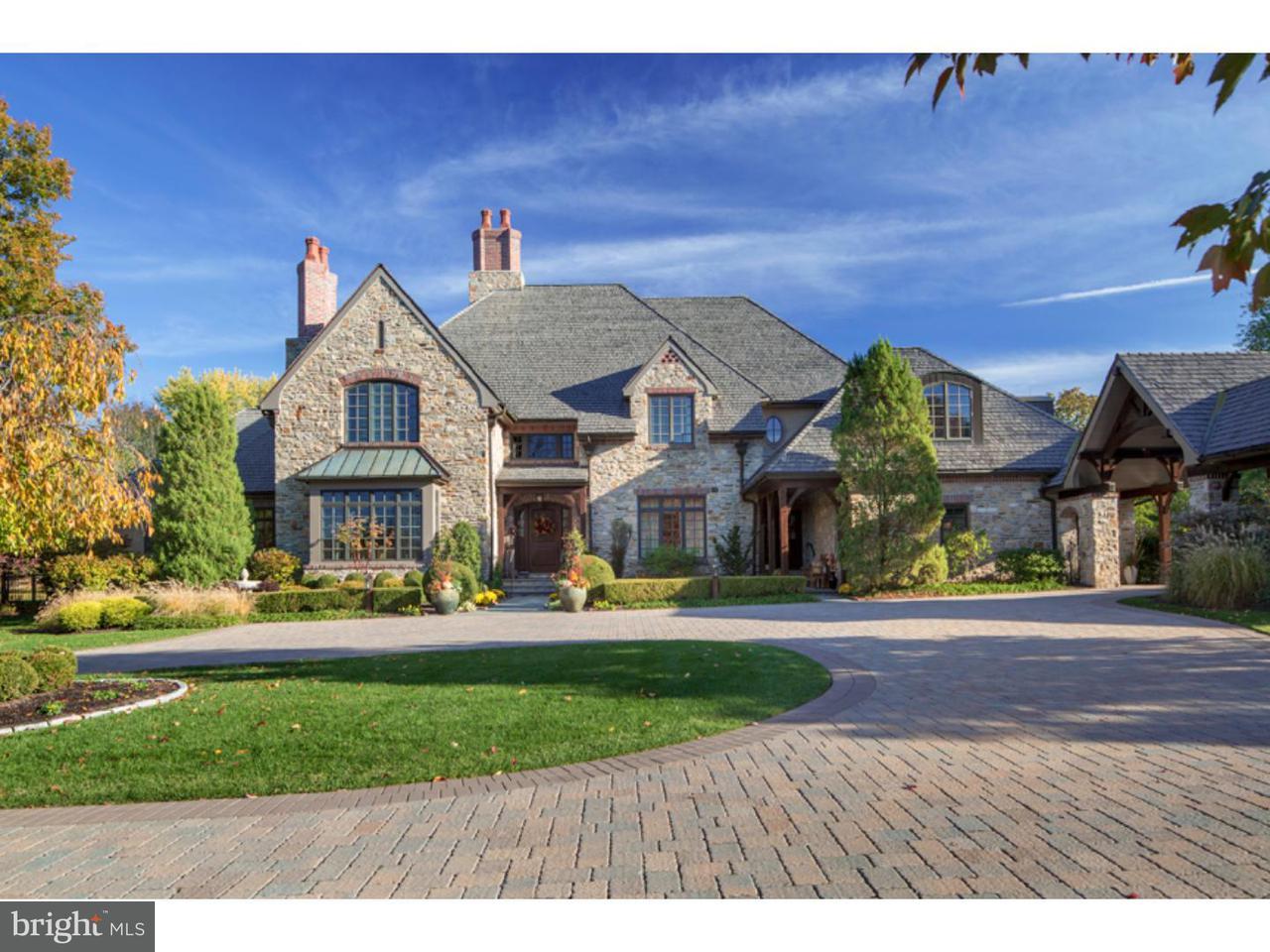 Частный односемейный дом для того Продажа на 916 BRUSHTOWN Road Lower Gwynedd, Пенсильвания 19002 Соединенные Штаты