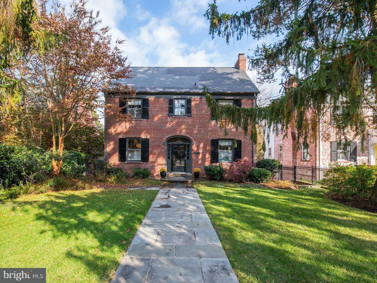 Частный односемейный дом для того Продажа на 6323 UTAH AVE NW 6323 UTAH AVE NW Washington, Округ Колумбия 20015 Соединенные Штаты