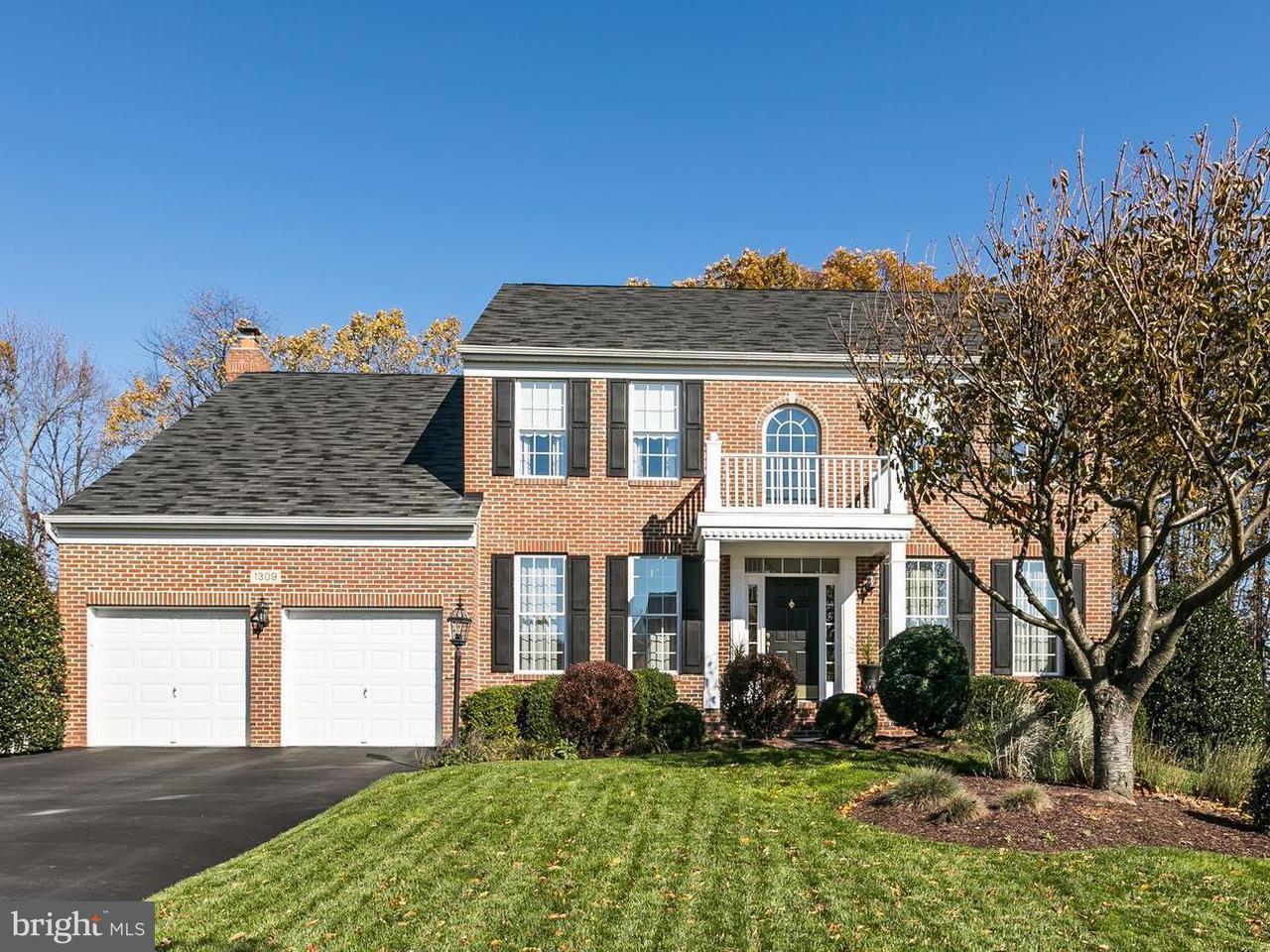 Eensgezinswoning voor Verkoop een t 1309 WANETA Court 1309 WANETA Court Odenton, Maryland 21113 Verenigde Staten