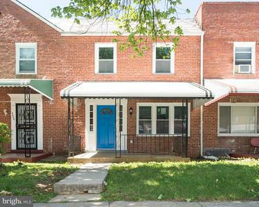 Single Family for Sale at 5406 Nelson Ave Baltimore, Maryland 21215 United States