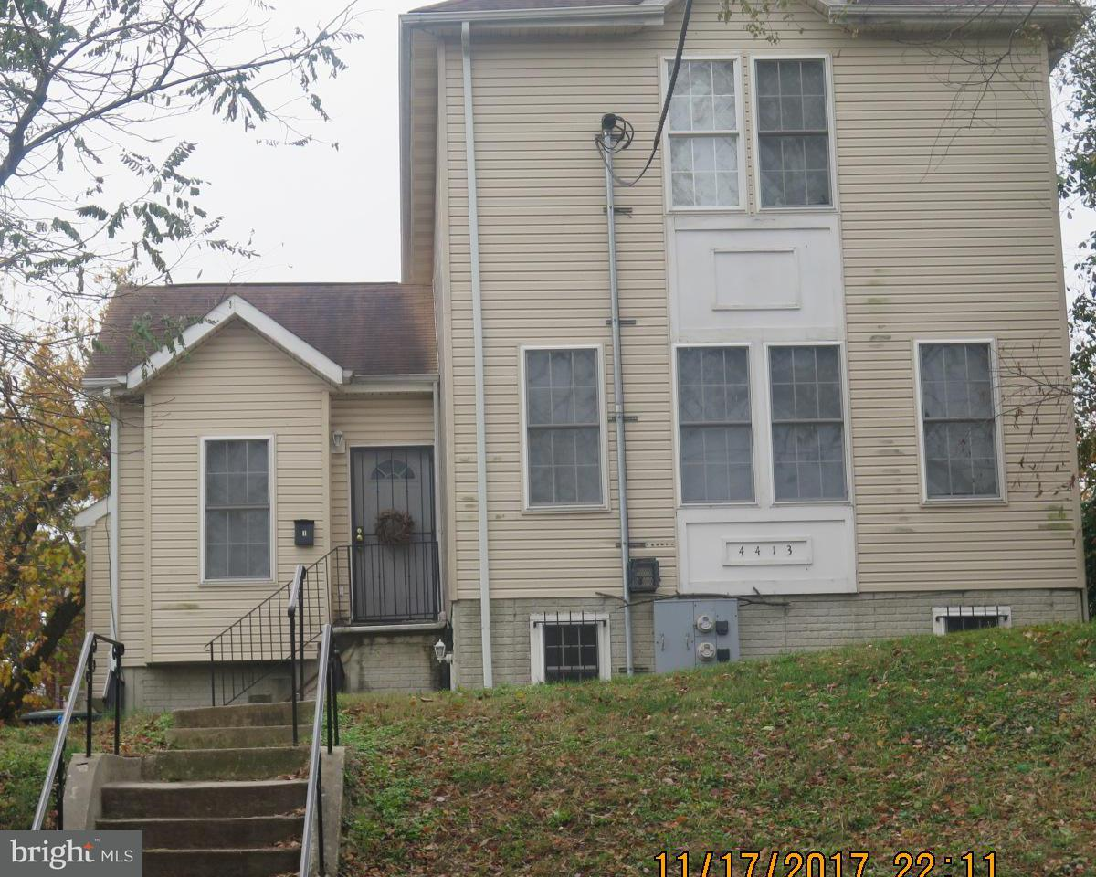 Multi-Family Home for Sale at 4413 A ST SE 4413 A ST SE Washington, District Of Columbia 20019 United States