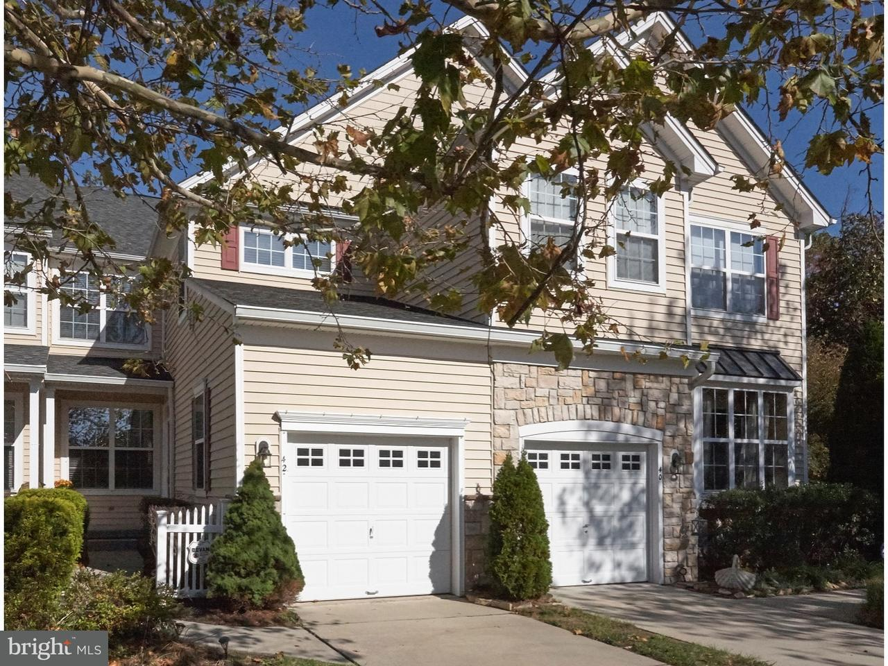 Townhouse for Sale at 42 CROWS NEST Court Mount Laurel, New Jersey 08054 United States