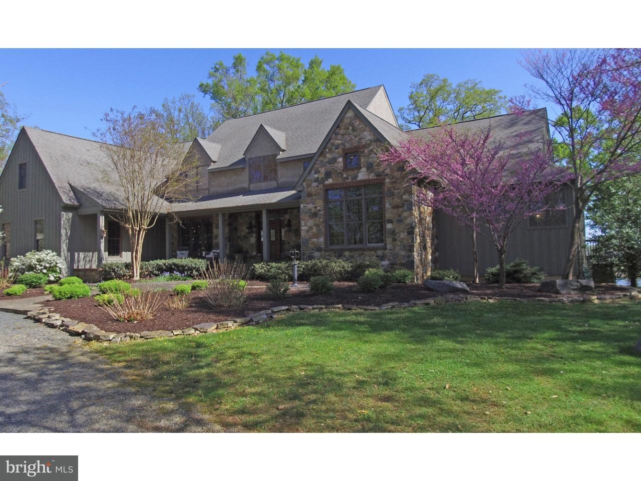 Maison unifamiliale pour l Vente à 1329 KNIGHT ISLAND Road Earleville, Maryland 21919 États-Unis