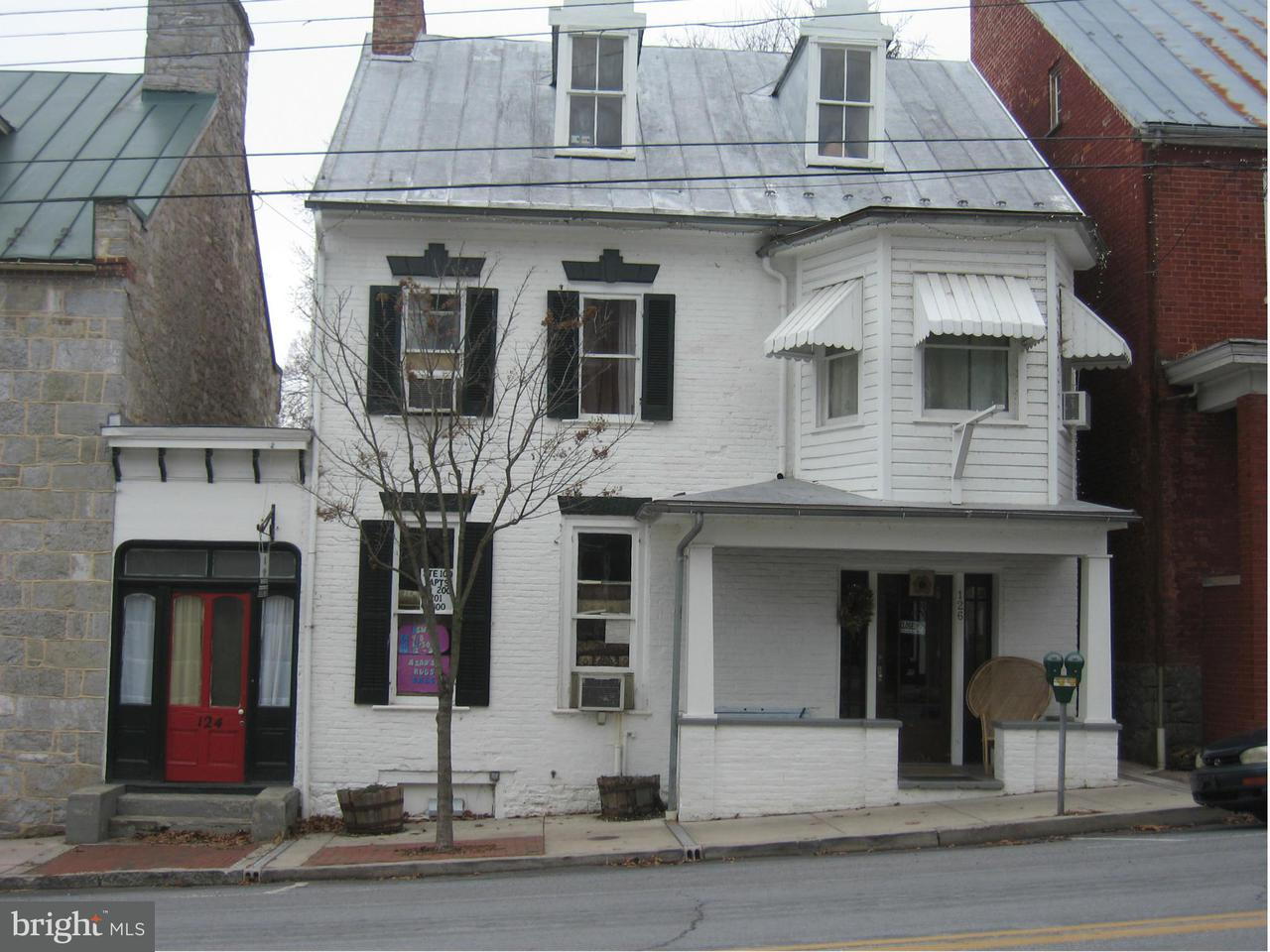 Commercial for Sale at 124126 GERMAN ST W 124126 GERMAN ST W Shepherdstown, West Virginia 25443 United States