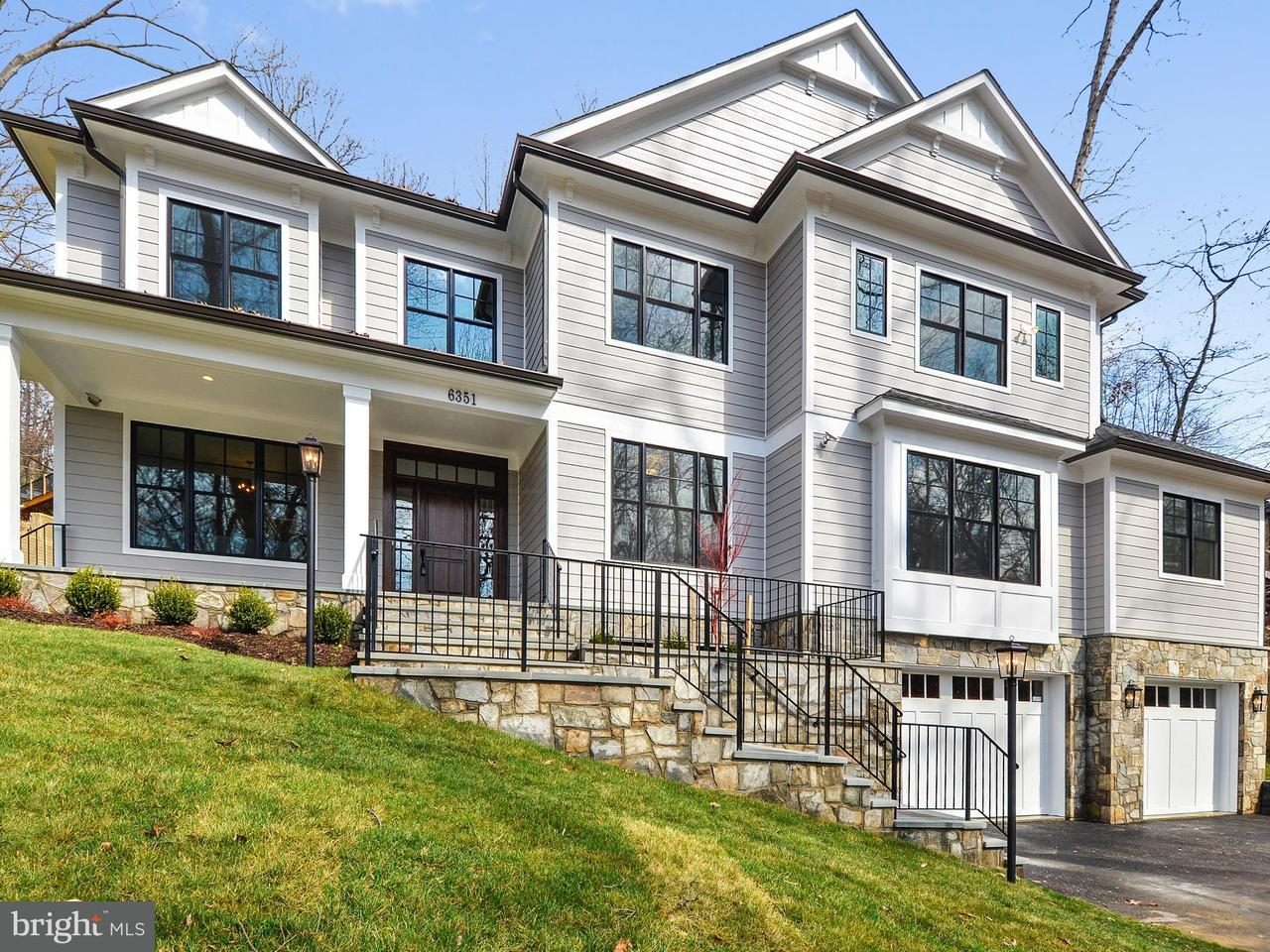 Single Family Home for Sale at 6351 WALHONDING Road 6351 WALHONDING Road Bethesda, Maryland 20816 United States