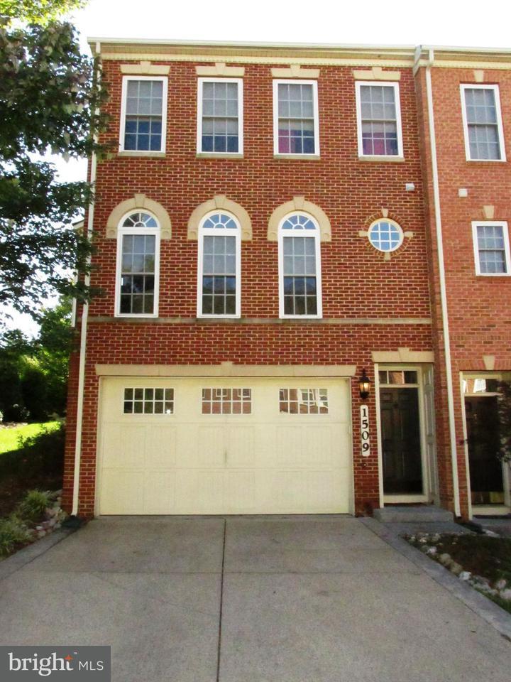 タウンハウス のために 売買 アット 1509 REGENT MANOR Court 1509 REGENT MANOR Court Silver Spring, メリーランド 20904 アメリカ合衆国