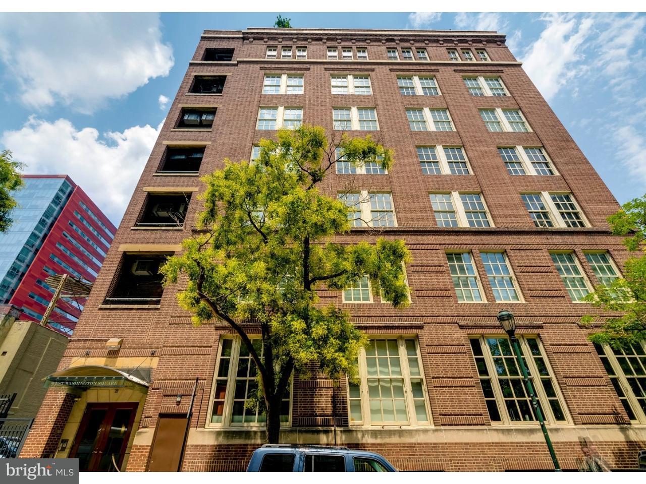 Appartement en copropriété pour l Vente à 220 W WASHINGTON SQ #300 Philadelphia, Pennsylvanie 19106 États-Unis