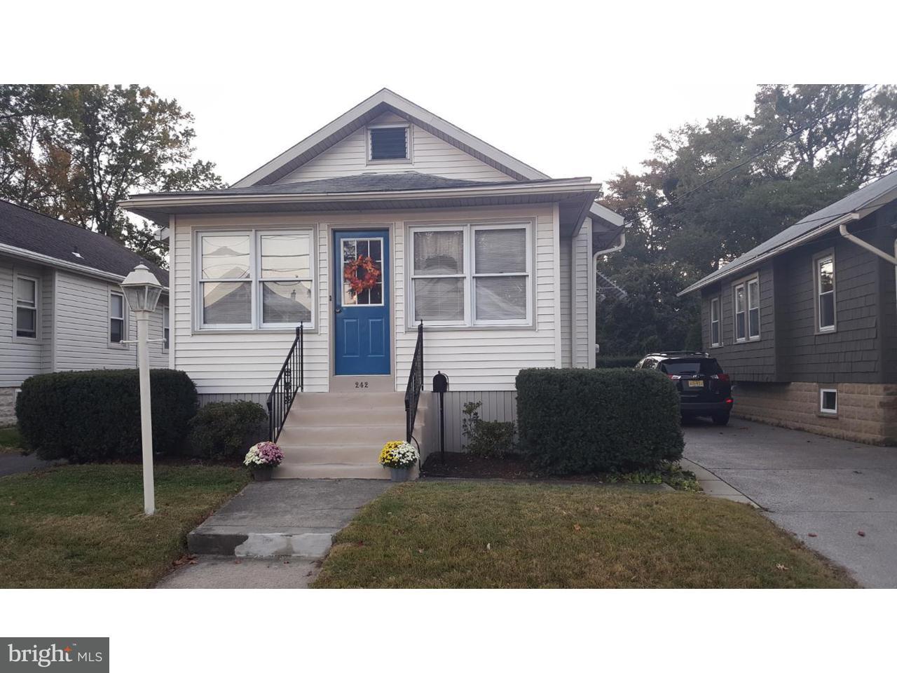 Частный односемейный дом для того Продажа на 242 HAMPSHIRE Avenue Audubon, Нью-Джерси 08106 Соединенные Штаты