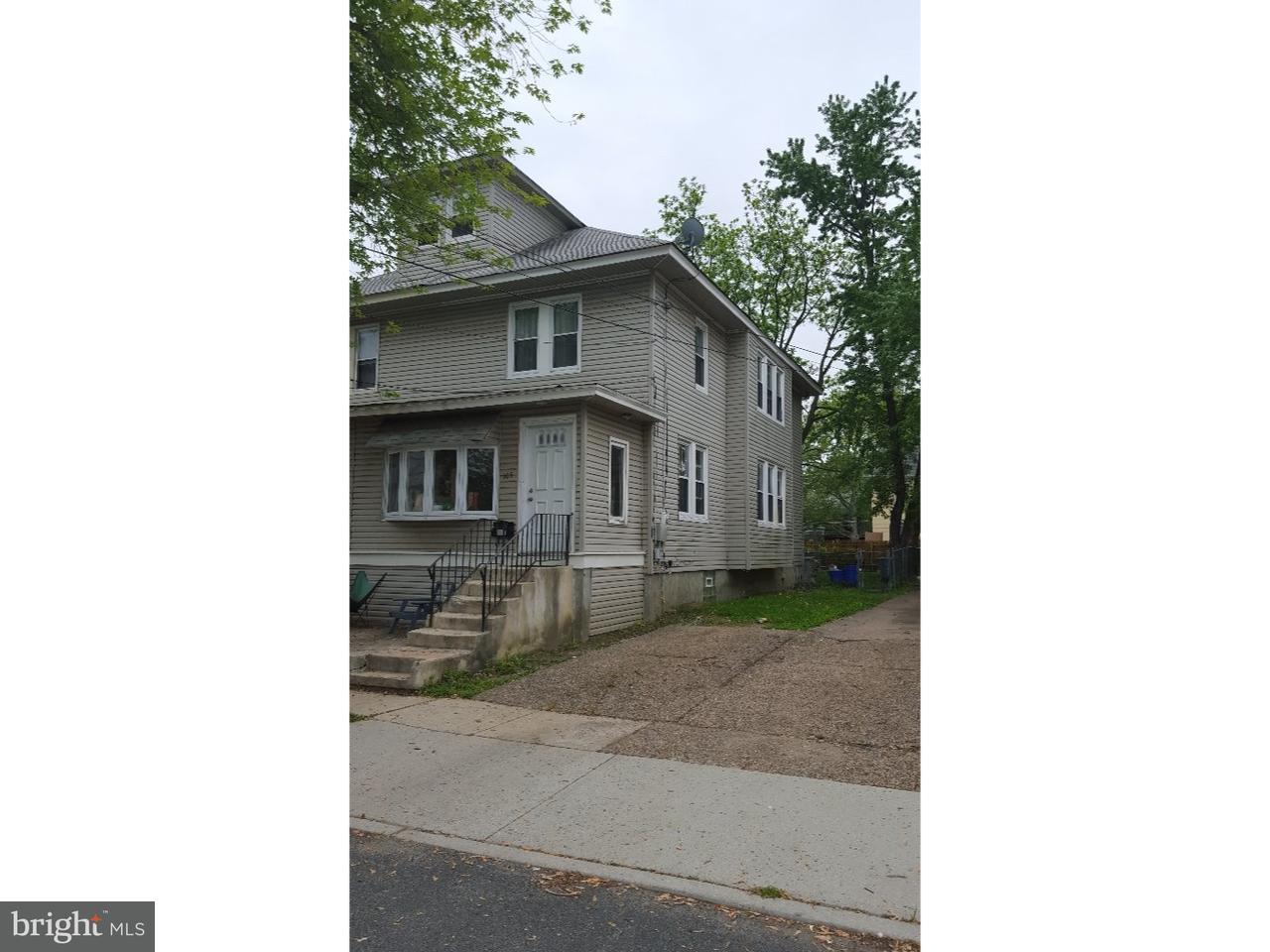 Maison accolée pour l Vente à 105 LINDEN Avenue Woodlynne, New Jersey 08107 États-Unis