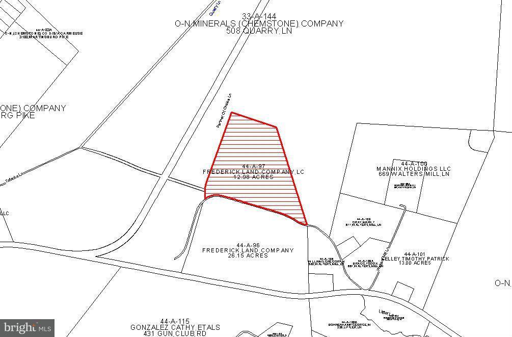 Land voor Verkoop een t WALTER MILLS Lane WALTER MILLS Lane Stephenson, Virginia 22656 Verenigde Staten