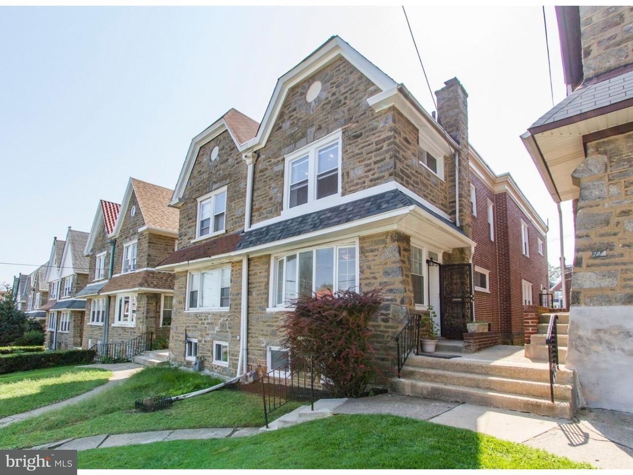 Maison accolée pour l Vente à 728 FERN Street Yeadon, Pennsylvanie 19050 États-Unis