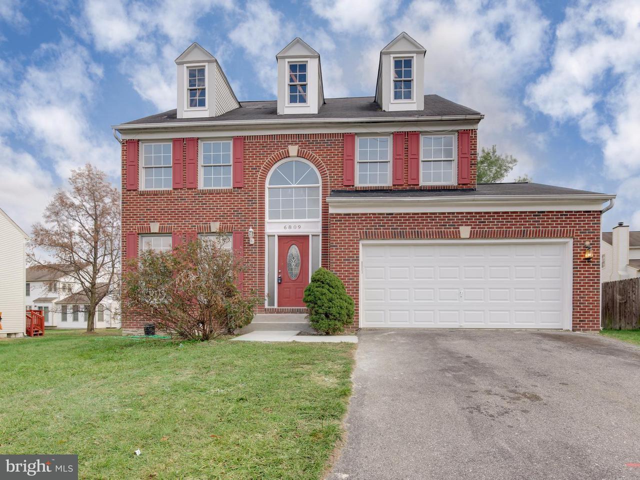 Single Family Home for Sale at 6809 LANDON Court 6809 LANDON Court Greenbelt, Maryland 20770 United States