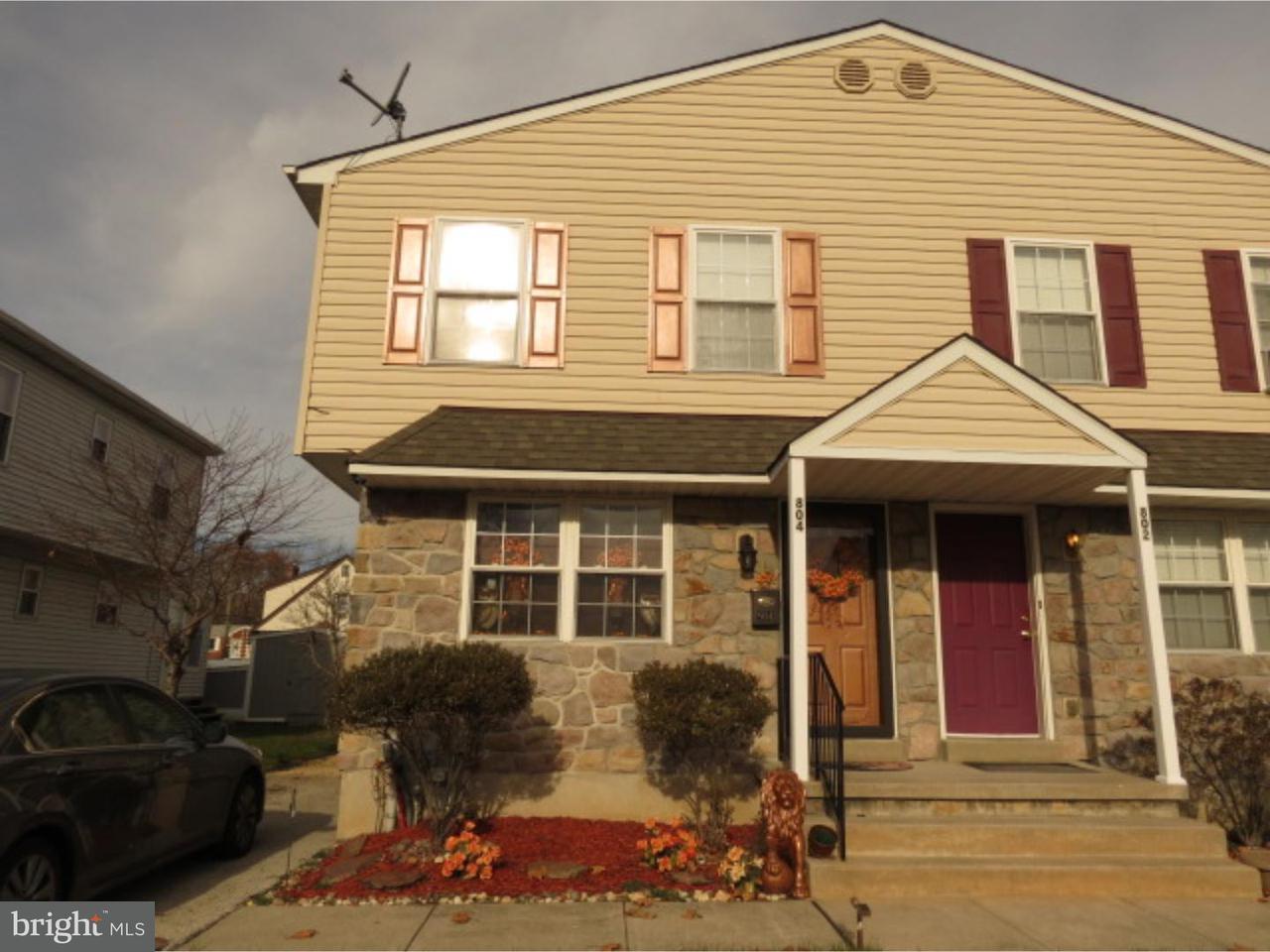 Casa unifamiliar adosada (Townhouse) por un Venta en 804 JACKSON Avenue Sharon Hill, Pennsylvania 19079 Estados Unidos