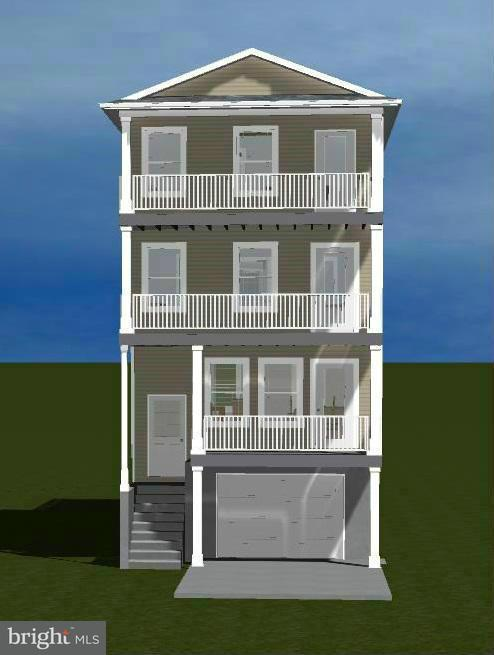Vivienda unifamiliar por un Venta en 4152 9th Street 4152 9th Street North Beach, Maryland 20714 Estados Unidos