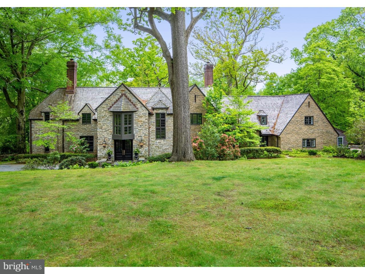 Частный односемейный дом для того Продажа на 50 RIGHTERS MILL Road Penn Valley, Пенсильвания 19072 Соединенные Штаты