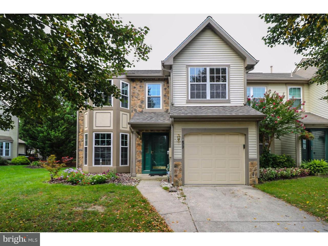 Townhouse for Sale at 59 SANDHURST Drive Mount Laurel, New Jersey 08054 United States