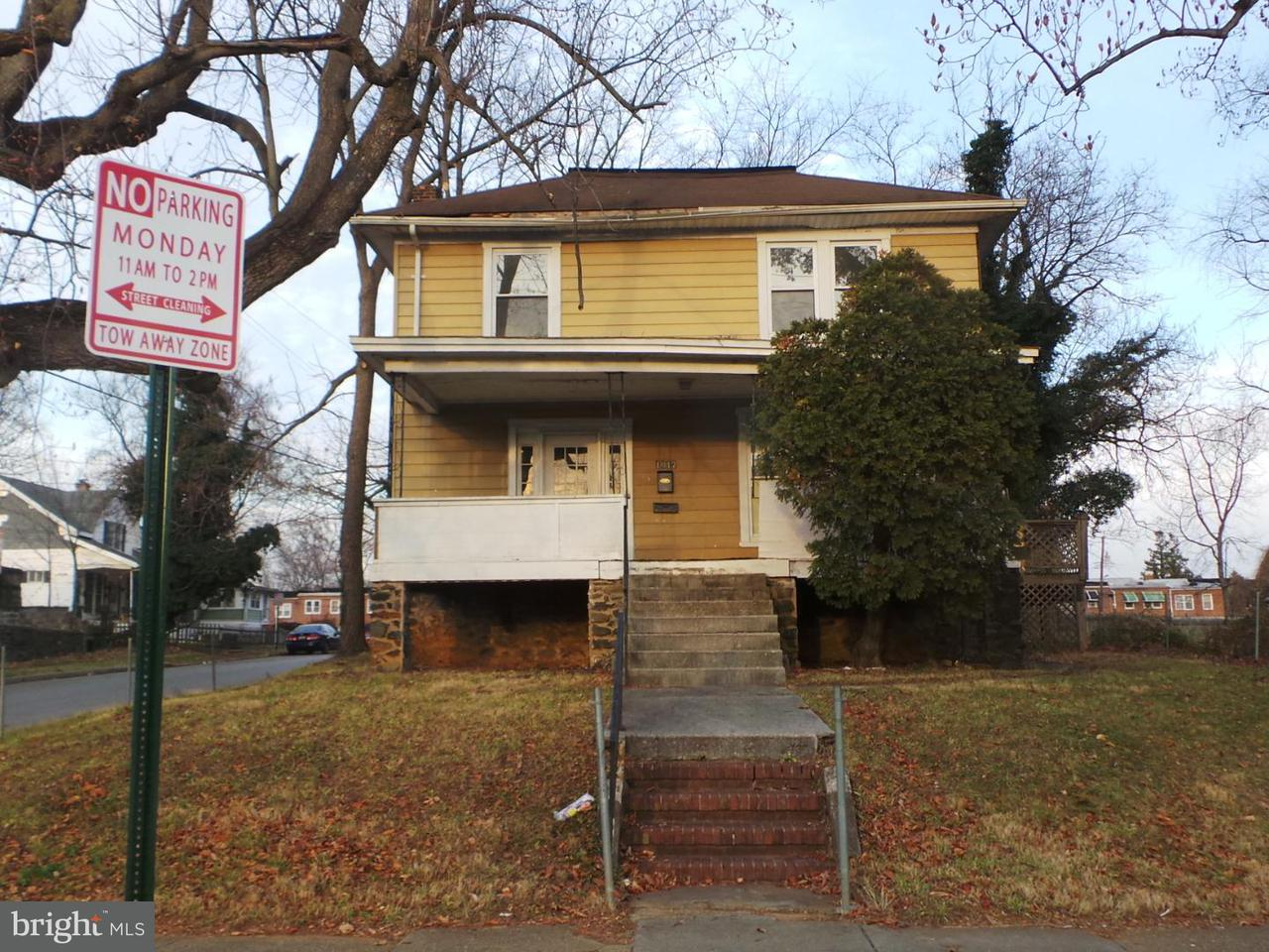 Single Family for Sale at 1017 Walnut Ave Baltimore, Maryland 21229 United States