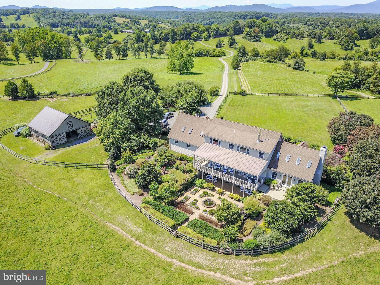 农场 为 销售 在 5881 KEYSER Road 5881 KEYSER Road Hume, 弗吉尼亚州 22639 美国