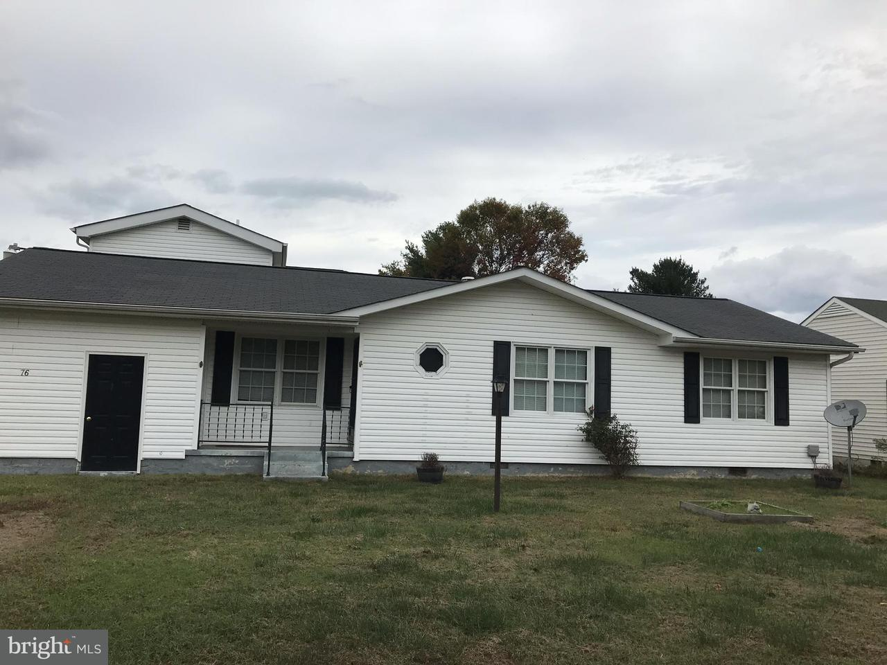 Other Residential for Rent at 76 Barnes Blvd Colonial Beach, Virginia 22443 United States