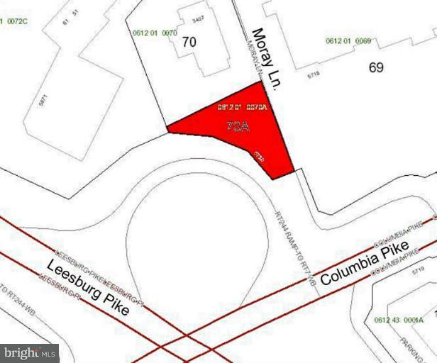 토지 용 매매 에 5730 COLUMBIA PIKE 5730 COLUMBIA PIKE Falls Church, 버지니아 22041 미국