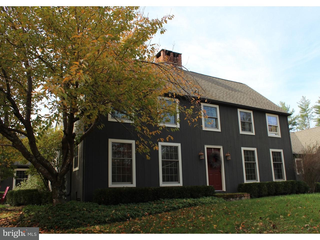 独户住宅 为 销售 在 527 CAFFERTY Road Upper Black Eddy, 宾夕法尼亚州 18972 美国